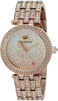 Juicy Couture Women's 1901377 Cali Analog Display Japanese Quartz -Tone Watch