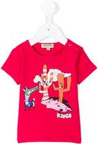 Kenzo cactus print T-shirt - kids - Cotton/Spandex/Elastane - 12 mth