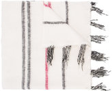 Denis Colomb striped large scarf - women - Cotton/Cashmere - One Size