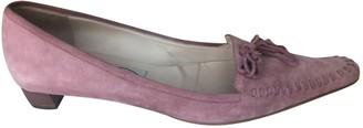 Emma Hope Pink Suede Flats