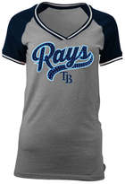 5th & Ocean Women's Tampa Bay Rays Rhinestone Night T-Shirt