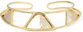 Anndra Neen Triangle Gold And Silver-plated Choker - one size