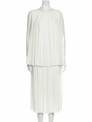 Adam Lippes Merino Wool Midi Length Dress Wool