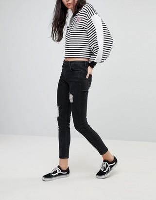 Kubban Destroyed Skinny Jeans