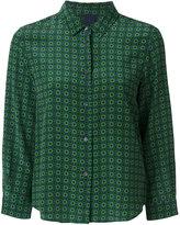 Aspesi tile pattern shirt