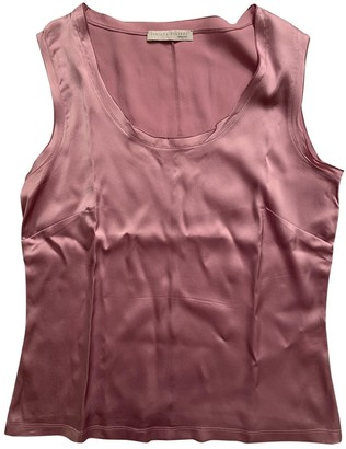 Fabiana Filippi Pink Silk Top for Women