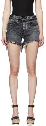 Moussy Black Denim Perrysburg Shorts