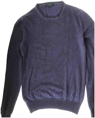 Malo Purple Cashmere Top for Women