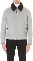 Burberry Blouson cashmere jacket