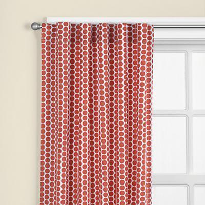 "84"" Orange Dot Curtain Panel(Sold individually)"