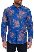 Robert Graham Samo 20 Classic Fit Embroidered Sport Shirt