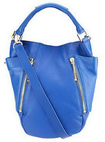 Kelsi Dagger As Is Ayden Pebble Leather Convertible Hobo Bag