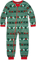 North Pole Trading Co Family Sleep Girls One Piece Pajama-Toddler