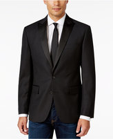 Ryan Seacrest Distinction Men's Slim-Fit Black Textured Geo Evening Jacket, Only at Macy's