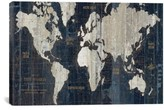 iCanvas 'Old World Map' Giclee Print Canvas Art