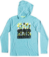 Quiksilver Boys' Hooded Long-Sleeve Graphic-Print T-Shirt