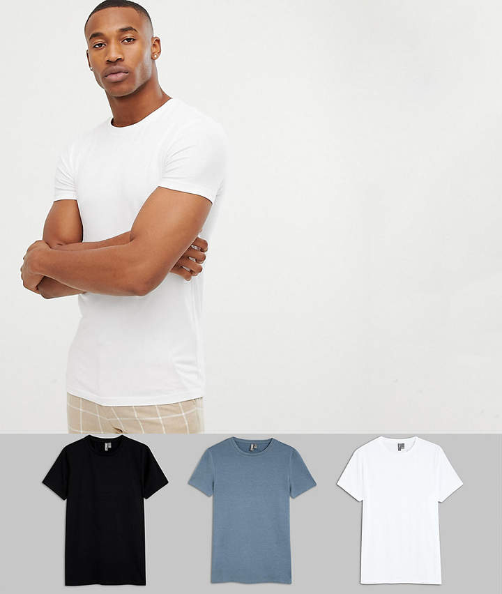 80cc8341 Asos Muscle Tee Pack - ShopStyle