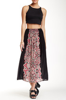 Angie Printed Maxi Skirt