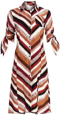 Altuzarra Narcissa Striped Silk Shirtdress