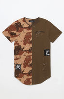 Civil Camo Split Drop T-Shirt
