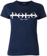 Polo Ralph Lauren logo T-shirt - women - Cotton - XS