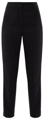 Roksanda Colwyn Side-stripe Twill Trousers - Womens - Black