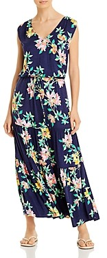 Tommy Bahama Floral Print Cover-Up Maxi Dress