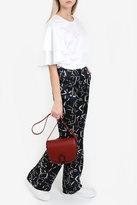 Paul & Joe Star Print Silk Trousers