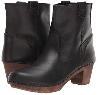 Sanita Juna (Black) Women's Boots