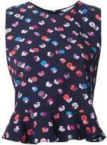 Rebecca Taylor floral print tank top - women - Silk - 8