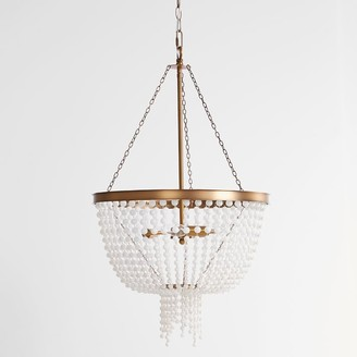 Pottery Barn Teen Glass Beaded Chandelier