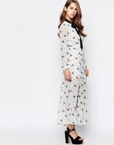 Sister Jane Hera Dress In Daisy Grid Print