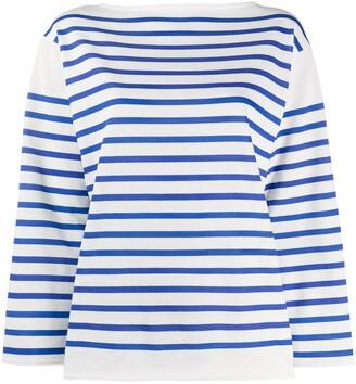 Philosophy di Lorenzo Serafini striped long sleeved T-shirt