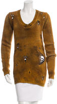 Avant Toi Distressed Cashmere Sweater w/ Tags