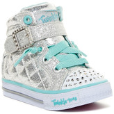 Skechers Twinkle Toes - Shuffles Light-Up High Top Sneaker (Baby & Toddler)