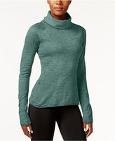 Nike Therma Sphere Element Space-Dyed Cowl-Neck Running Top