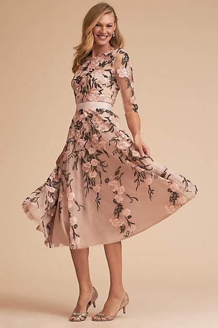 Anthropologie Linden Wedding Guest Dress