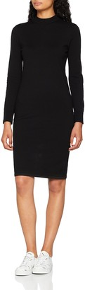 Noisy May Women's Nmcirus L/s Funnel Neck Knit Dress Noos
