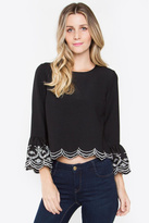 Sugar Lips Ruffle Top