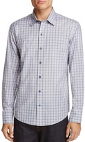 Zachary Prell Cristiano Plaid Regular Fit Button-Down Shirt