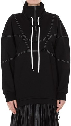 Givenchy Contrast Drawstring Sweater