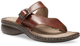Eastland Women's Sandals CHESTNUT - Chestnut Townsend Opanka Leather Sandal - Women