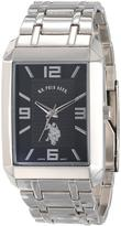 U.S. Polo Assn. Men's Silvertone Metal Strap Watch