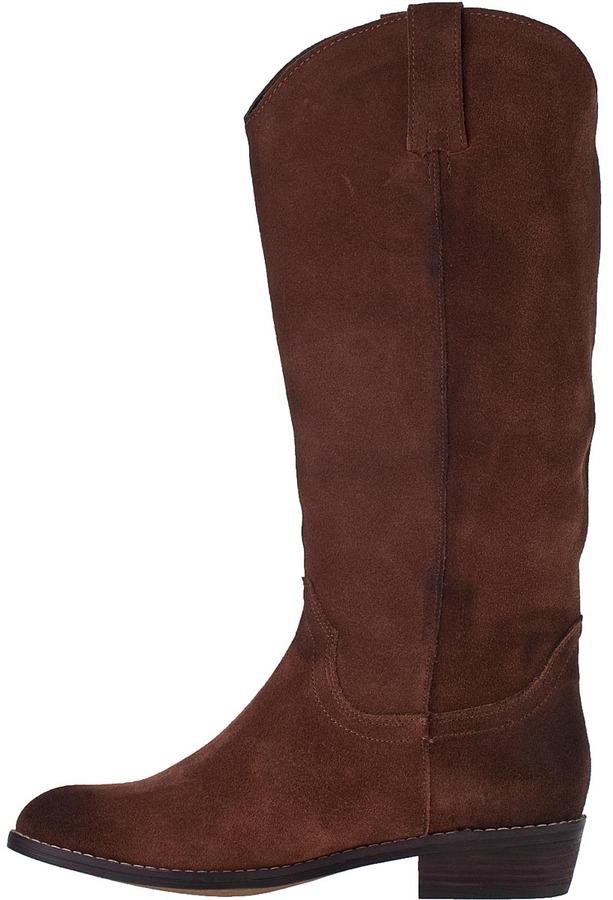 Kelsi Dagger Frisco Western Boot Cognac Suede