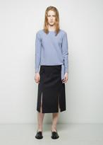 J.W.Anderson A-Line Slit Skirt
