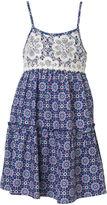 JCPenney Pinky Printed Crochet Dress - Preschool Girls 4-6x