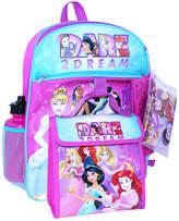 Princess 5-Piece Backpack Set