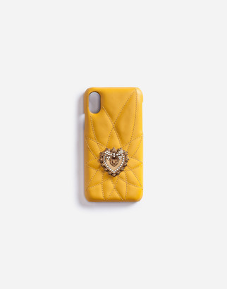 Dolce & Gabbana Calfskin Iphone X Devotion Case