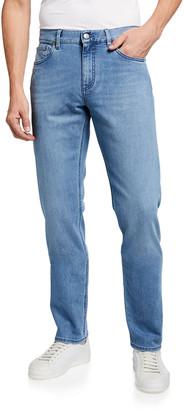 Ermenegildo Zegna Men's Light Wash Denim Jeans
