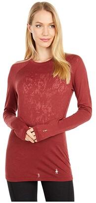 Smartwool Merino 150 Lace Base Layer Long Sleeve (Masala) Women's T Shirt